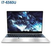 15.6 polegada jogo portátil intel core i7-6560U 8g/16g ram 1tb/128g/256g/512g ssd computador portátil portátil ips display ultrabook