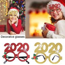 2020 Christmas Party Glasses Adult Children Snowflake Glasses Toys Party Supplies