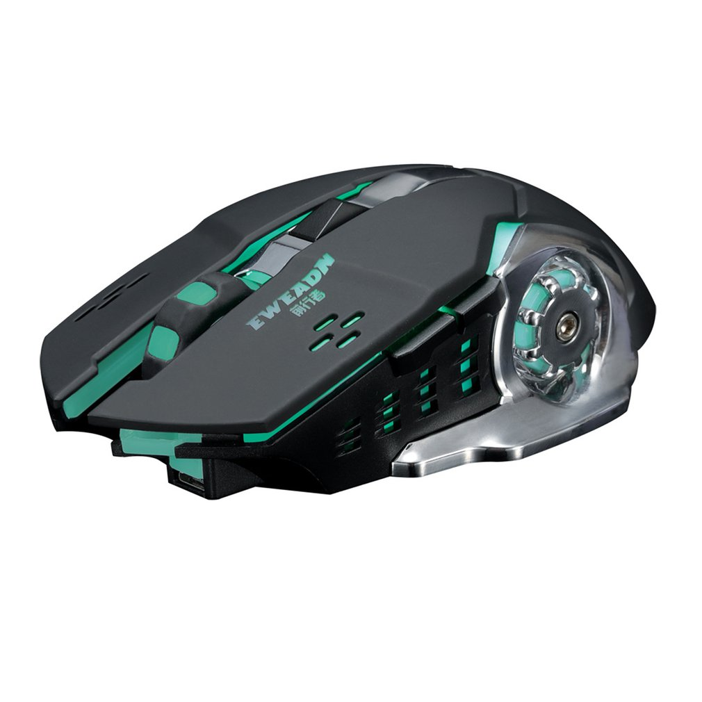 Silent charging 2.4GH wireless mouse Built-in lithium battery Game optical engine image