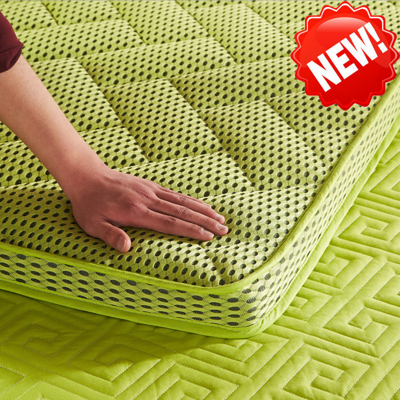 Free Shipping Bamboo Fiber Thicken Mattresses Keep Warm Foldable Tatami Single Double Mattress For Family Bedspreads Bed