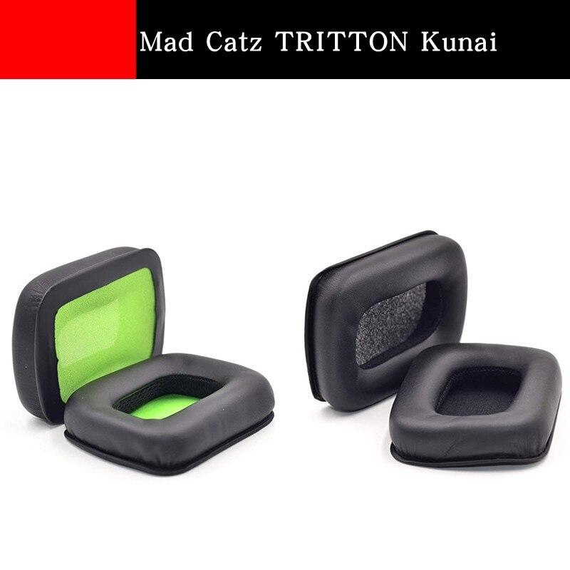 1 Pair Suitable For Mad Catz TRITTON Kunai Headphone Holster Sponge Earmuffs Accessories