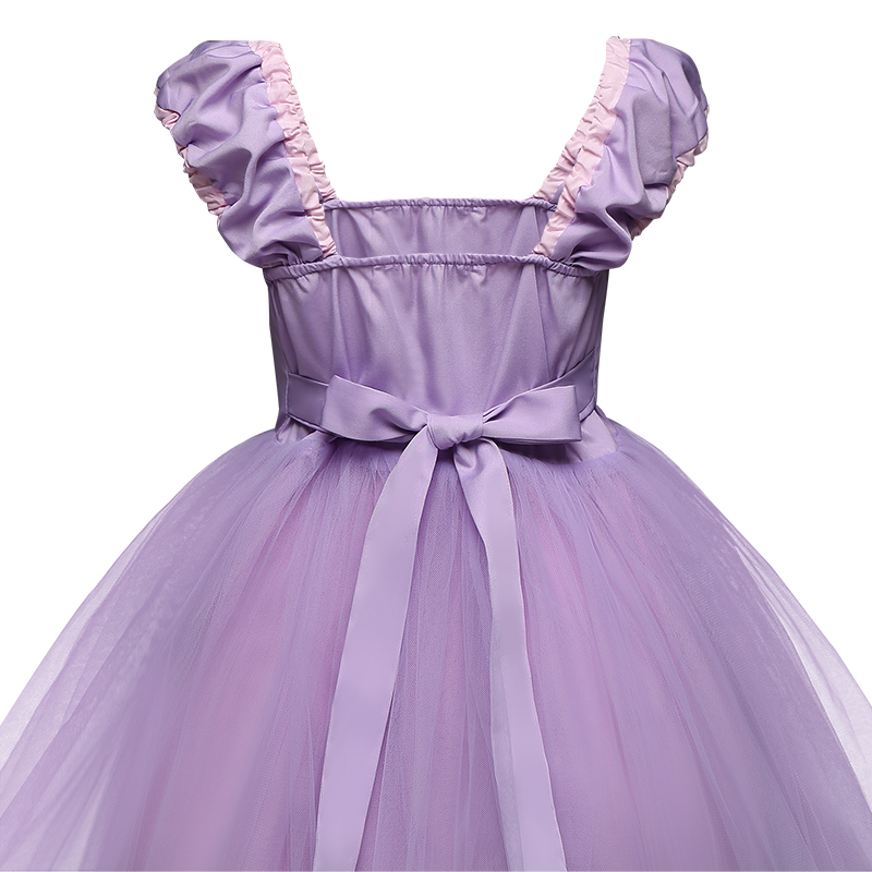 H386a0496eebb4a97ba5f4fb8c50aad1ej Infant Baby Girls Rapunzel Sofia Princess Costume Halloween Cosplay Clothes Toddler Party Role-play Kids Fancy Dresses For Girls