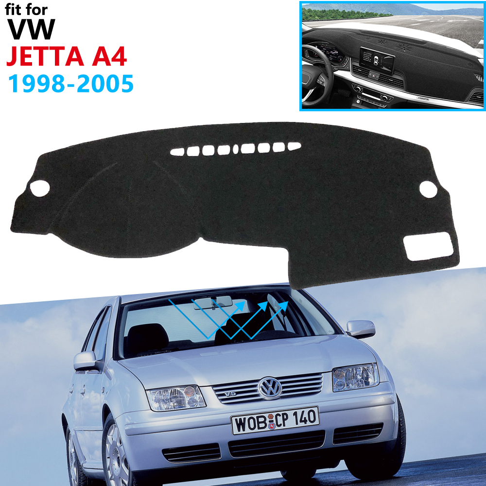 Dashboard Cover Protective Pad For Volkswagen VW Jetta A4 MK4 Bora 1998~2005 1J Car Accessories Dash Board Sunshade Carpet 2000