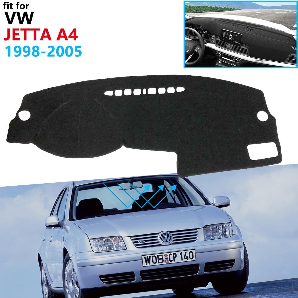 Dashboard Cover Protective Pad For Volkswagen VW Jetta A4 MK4 Bora 1998~2005 1J Car Accessories Dash Board Sunshade Carpet 2000
