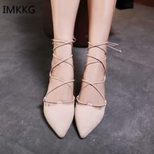 Women Flats Shoes Ankle Strap W