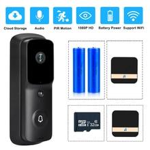 WIFI Doorbell Camera Video-Intercom Smart Wireless-Security 1080P Chime Apartments Visual