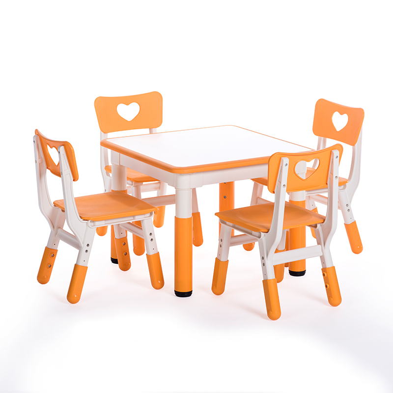 Children's Desks And Chairs In Yucai Kindergarten
