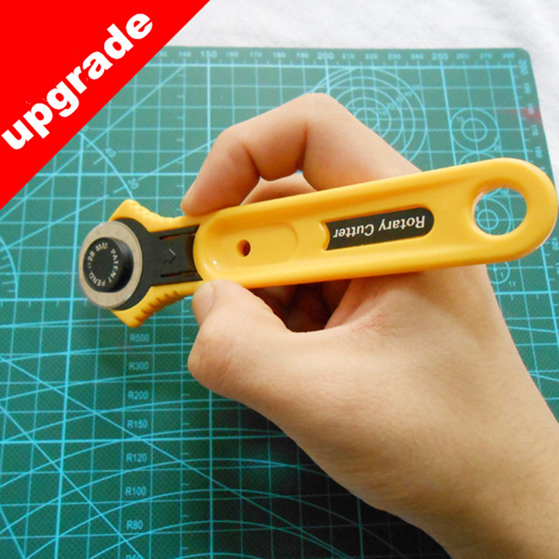 28mm 45mm Upgrade round cloth cutting knives patchwork rotary Fabric Cutter Quilting tools sewing accessories DIY manual type in Sewing Tools Accessory from Home Garden