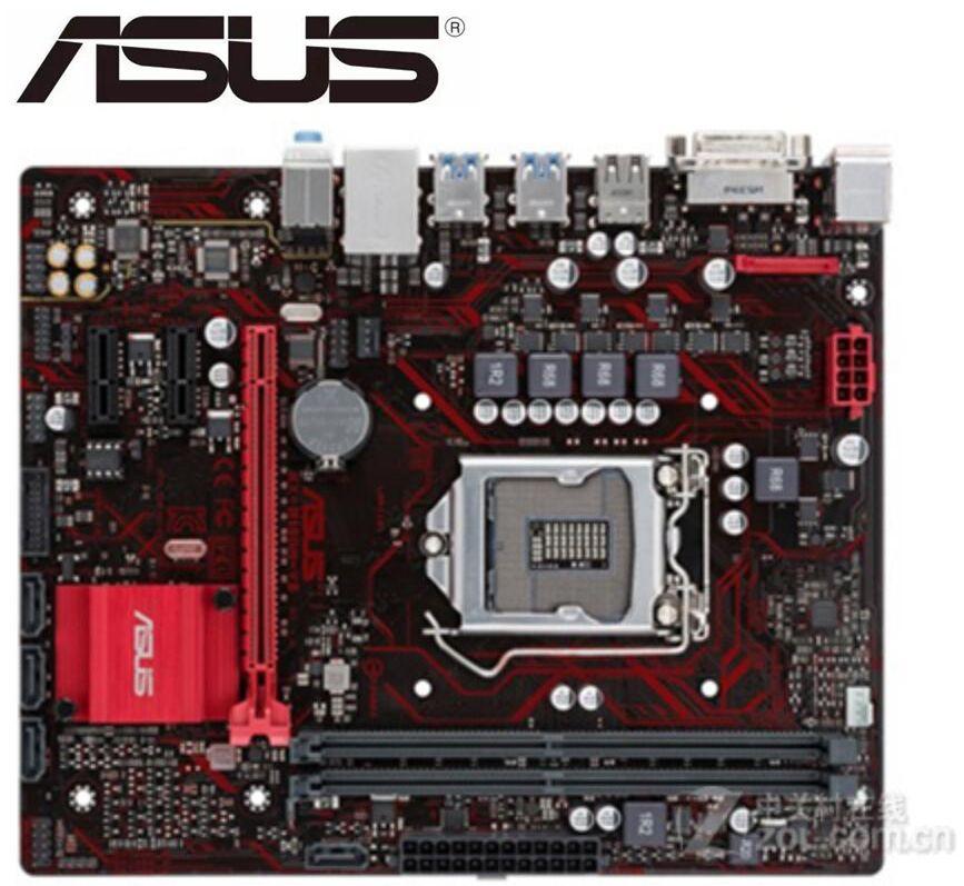 ASUS EX-B150M-V3 DDR4 LGA 1151 Used Desktop Motherboard 32GB USB2.0 USB3.0 DVI B150 Mainboard