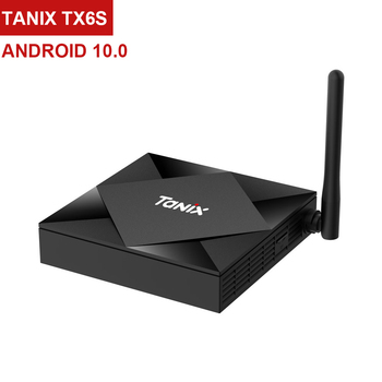 Tanix TX6s Allwinner H616 Smart Android TV Box 4GB RAM 64GB ROM 5G WIFI Android 10.0 4K TV Box Support Google Assistant Youtube