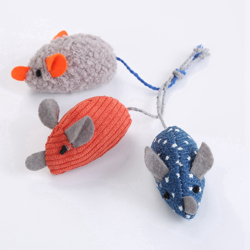 Simulation Plush Mouse Toy With Tail For Cats Pet Interactive Toy Teaser Kitten Supplies Puppy Playing Exercise Supplies Pet Toy 1