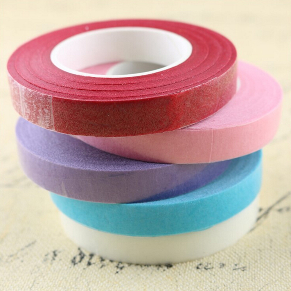 1 Roll Florist Tape Corsages Buttonhole Artificial Flower Stamen Wrap Paper Tape For Florist Accessories Floral Stem Tape