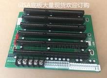 ICA-6106 6 yuvası ISA yuvası endüstriyel pasif arka pannelli desteği PICMG1.0 yarım çocuk CPU kartı PCA-6106 kartı % 100% test edil