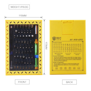 Image 2 - BST 8928 63 in 1 Professional repair tools kit Multifunctional precision screwdriver set for Mobile Phone Laptop