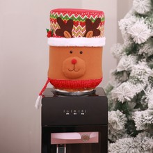 Get more info on the Soft Water Bucket Santa Claus Dear Snowman Decor Water Dispenser Cover Ornaments Home Christmas Party Decor CM