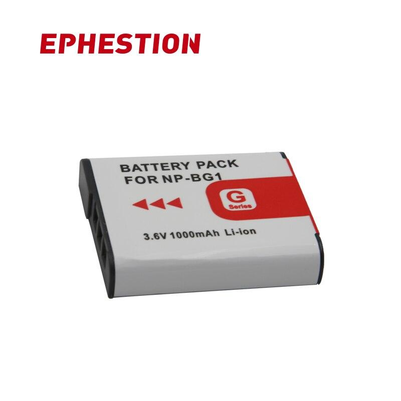 EHPESTION Batteries For Sony Np Bg1 Battery NP-BG1 For SONY Cyber-Shot DSC-H3 DSC-H7 DSC-H9 DSC-H10 DSC-H20 DSC-H50 DSC-H55