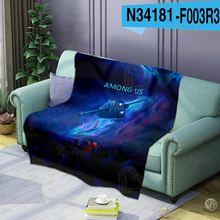 Игра Косплэй удобный спальный Одеяло s футболка с изображением
