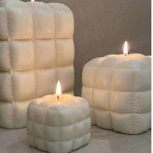 Nowa symulacja miękka torba sofa modelowanie świeca formy silikonowe DIY kreatywny świeca zapachowa tworzenie form narzędzie domu ozdoby do dekoracji tanie tanio CN (pochodzenie) B-5601 Silicone Other 5 5*5 5 Candle mold Silicone mold Soap mold Candlestick shape Form for candles