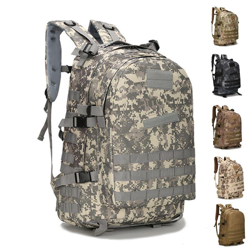 76de7e112907 45L Large Capacity Man Army Tactical Backpacks Military Assault Bags ...