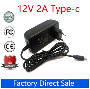 """12V 2A Type-c Wall Charger For CHUWI Hi10 X UBook Minibook (N4100) Hi13 Apollo Lapbook Pro 14"""" SurBook Mini Surbook12.3 inch(China)"""