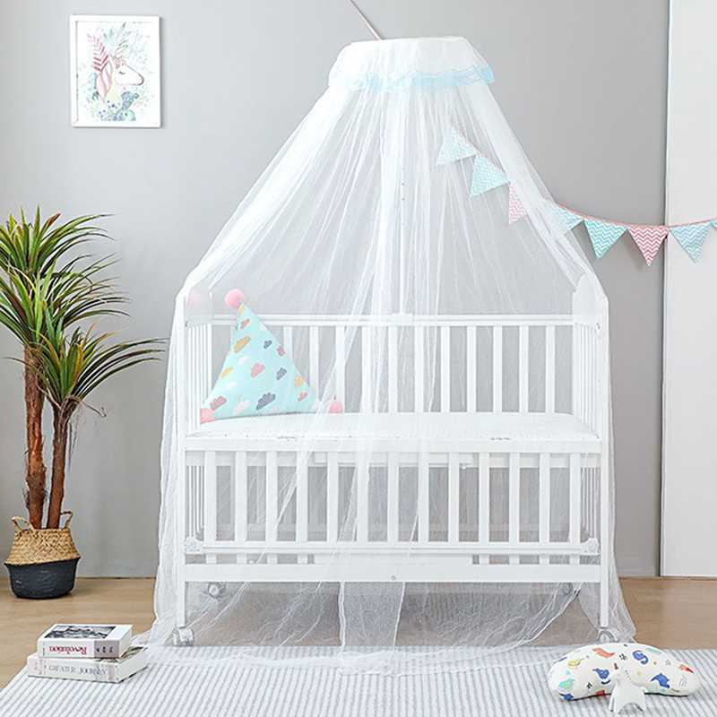 Baby Mosquito Net for Crib Bed Canopy Tulle Curtains Hanging Tent Bedroom Play House Tent Kids Room Decoration Baby Bedding