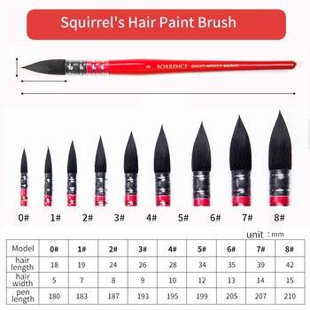 Squirrel's Hair Paint Brush Best Sellers Paint Brushes Alca Cartel