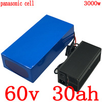 60V 30AH Lithium ion battery use samsung cell 60V 2000W 2500W 3000W electric scooter battery 60V 30AH electric bicycle battery