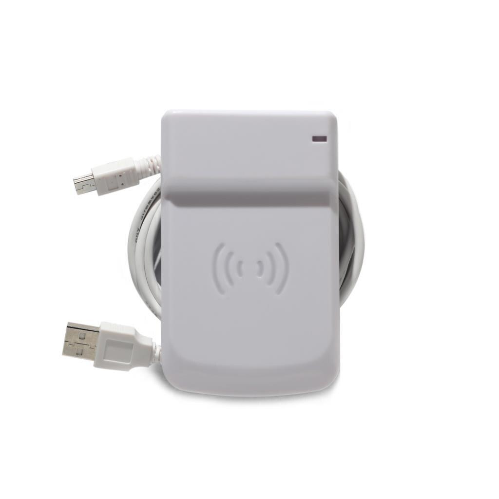 125 кГц 13,56 МГц USB кардридер UID Регулируемый RFID NFC считыватель подключи и играй поддержка Win OS Android