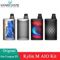 Vandy-cigarrillo electrónico Original vapeador Kylin M AIO, 70W, funciona con batería 18650, vandyvape, bricolaje