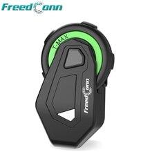Freedconn TMAX Mオートバイbuletooth音楽ヘッドセットオートバイヘルメットfmヘッドセットインターホン機能なしで2 1イヤホン