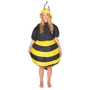 Image 2 - Inflatable Bumble Bee Costumes Women Men for Adults Party Carnival Cosplay Dress Blowup Outfits Halloween Purim Suits