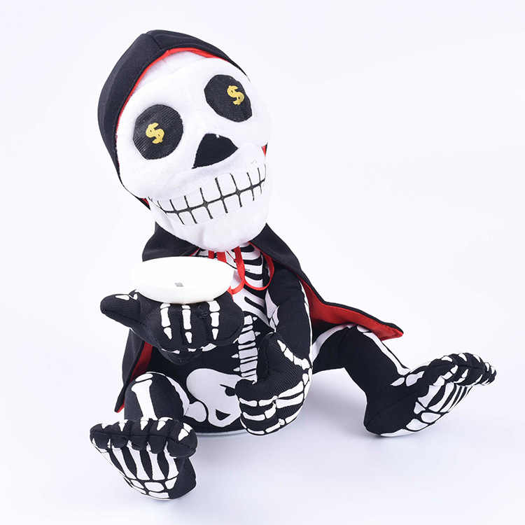 Fun Twisting Singing and Dancing Ghost Halloween Prop Party Decor Ornaments