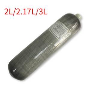 Image 1 - Cilindro Pcp de alta presión AC103 tanque de aire para buceo, Rifle de aire, cilindro de 300bar, tanque de aire de carbono Co2, Ce M18 * 1,5, rosca, 2L/2,17l/3L
