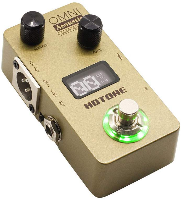 Hotone Omni AC Acoustic Simulator Pedal Guitar Effect Parts