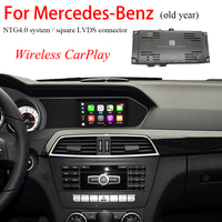 Wireless Apple CarPlay Car Video Interface for Mercedes C63 NTG4.0 OEM Infortainment Navigation System Support Android Auto