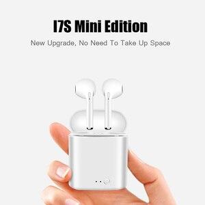 Image 2 - Mini i7s TWS Bluetooth Thật Không Dây Tai Nghe Stereo Không Dây Tai Nghe Nhét Tai Thể Thao Tai Nghe có Mic cho Xiaomi iPhone Điện Thoại