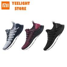 Оригинальные кроссовки Mijia 3 Mi Mijia Shoes3 для мужчин, спортивная обувь для бега, композитная подошва, искусственная кожа, устойчивая поддержка, толстая стелька-губка