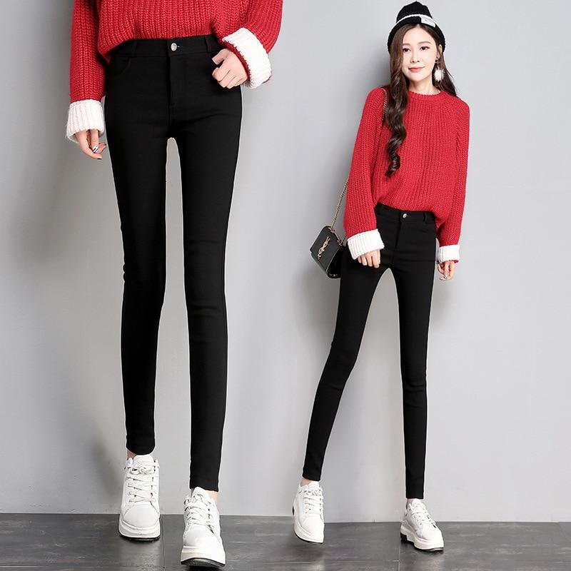 4-Selectable Elasticity Magic Pants Women's Photo Shoot 2019 Autumn Korean-style Slimming Slim Fit Slimming Skinny Leggings