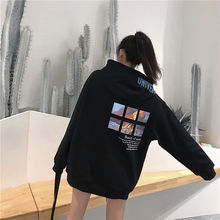 Ladies Autumn Warm Hoodies Winter Hoodie Woman Fall Clothes for Women Japanese Pullover Casual Plus Size Korean 2019