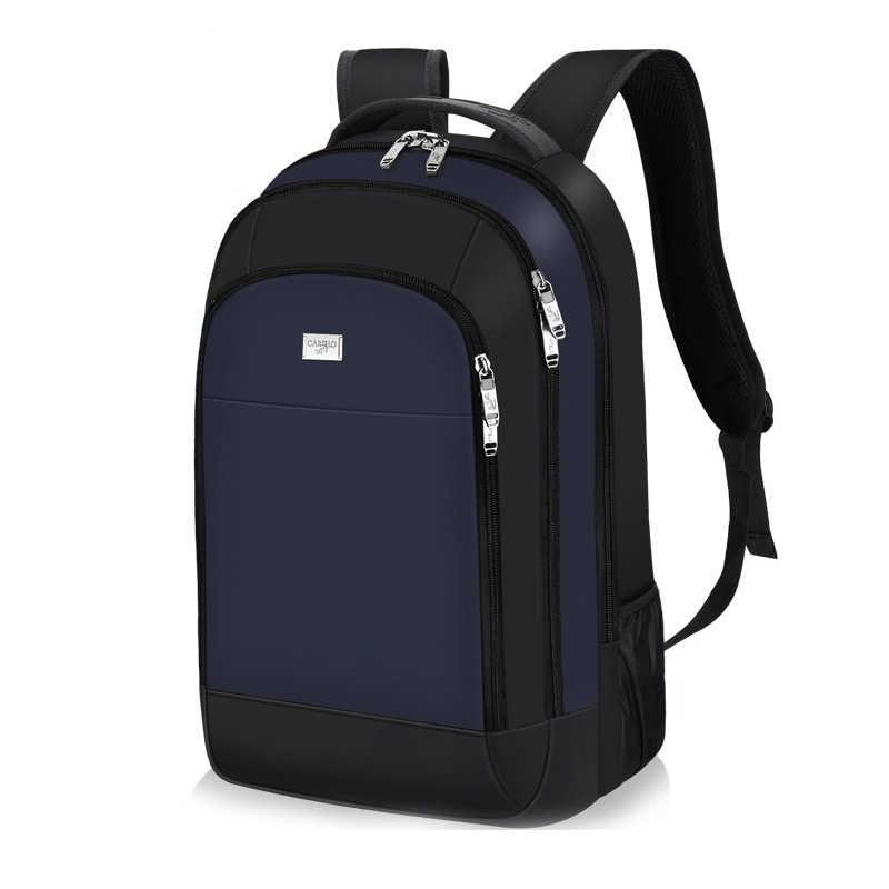 Pria Sekolah Laptop Ransel Air Ransel Perjalanan Multi USB Charger Pria untuk Wanita Fashion Tersembunyi Anti Theft Zipper Tas Pria