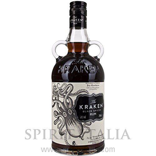 Kraken Black Spiced Rum 40,00% 0.7 L.