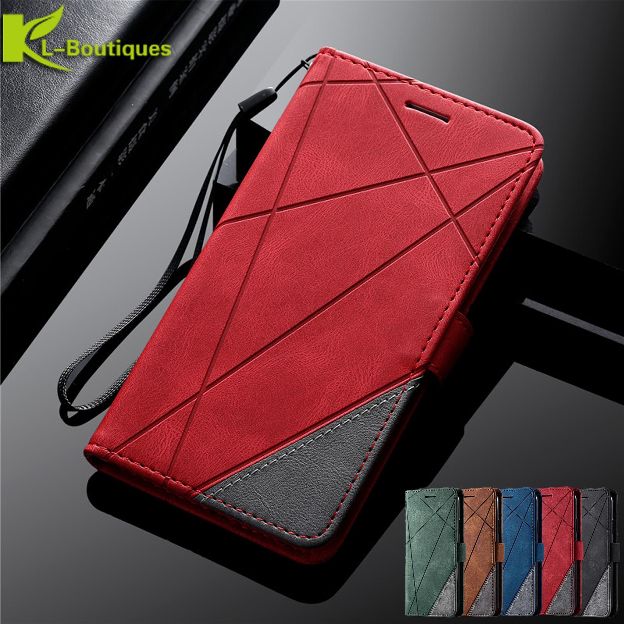 Кожаный чехол-бумажник с откидной крышкой для Samsung Galaxy S20 Ultra A 51 71 91 50 70 10 20 e 30 S 40 A7 A6 2018 J3 J5 J7 2017 S10 S9 S8 Plus