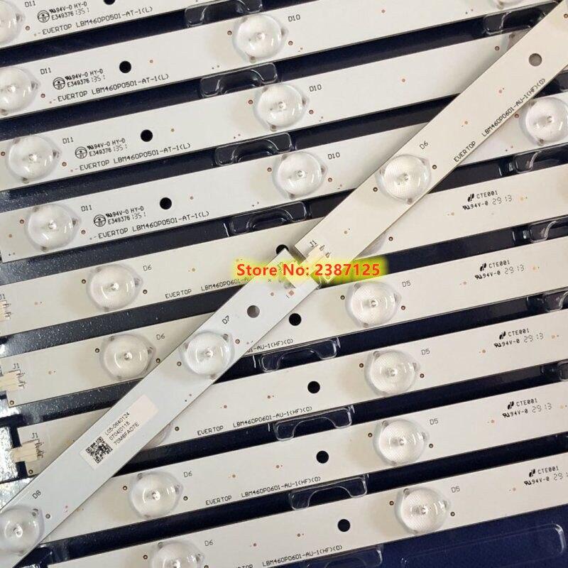 1set-12pieces LED Backlight Strip LBM460P0501-AT/AU-1/LBM460P0601-AT/AU-1 For LE46A31S LE46G3000