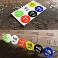 Водонепроницаемые наклейки NFC из ПЭТ для всех телефонов