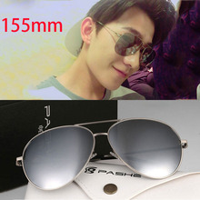 Vazrobe 155mm Oversized Sunglasses Women Men Polarized Mirrored Sun Glasses for Female Shades Mens Eyewear Big Face Aviation