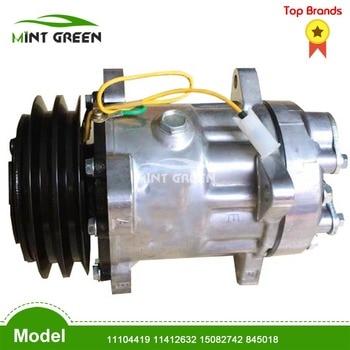 Para compresor de aire chinA SD7H15 compresor de CA para VOLVO FL 10 10/320, 11104419, 11412632, 15082742, 845018, 32469, 78606, 14-8045 24v