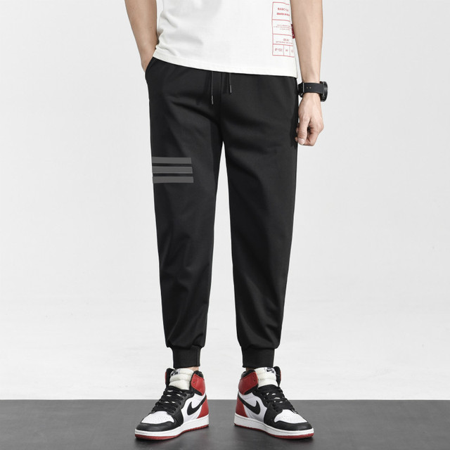 Brand Joggers Casual Sports Pants Men Gym Clothing Comfortable Male Tracksuit Bottoms Black Track Pants Mens Fitness Sweatpants 4