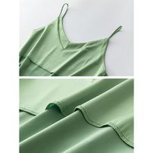 Silk Satin Tank Tops WomenSpaghetti Strap