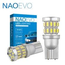 цена на NAOEVO T10 W5W Car LED WY5W Auto led light 5W5  Automobiles Interior Motorcycle Blub 194 Clearance lamp 1.5W 500LM Super bright