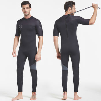 Hight  quality 3MM Neoprene Wetsuit One-Piece and Close Body Diving Suit for Men Scuba Dive Surfing Snorkeling Spearfishing